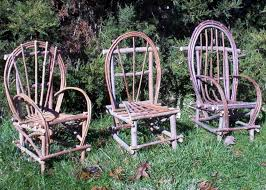 plan how to build rustic bent willow twig chair child size diy make your own rustic furniture