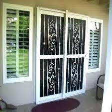 burglar proof doors burglar proof french doors awe inspiring sliding glass image of cute door home