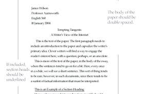 Mla Format For Essays Example Sample Resume For A Technician Bio