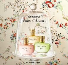<b>Ungaro Fruit d'Amour Gold</b>, Pink & Green (2015) {New Fragrances ...