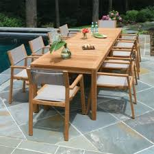 outdoor dining table and chairs. Summit 10ft Infinity Dining Table, Shown With Stacking Armchairs In  Taupe. Outdoor Table And Chairs D