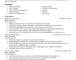 Sales Retail Sales Associate Resume Job Description Sample Resume Dnrxnqbx LiveCareer