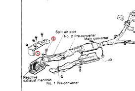Exhaust air pump and split air pipe rx7club mazda rx7