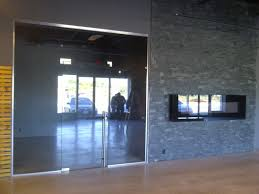 glass door retail entrance