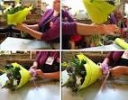 Как собрать букет из цветов пошагово