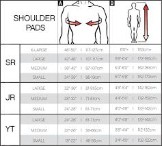 Ccm Youth Hockey Gloves Size Chart Ccm Tacks 4052 Hockey Shoulder Pads Junior Pure Hockey
