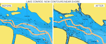Lake Conroe Nautical Chart Lake Conroe In Texas Updates Now Available