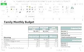 House Budget Template Allthingsproperty Info