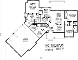 incredible one story angled house plans ranch house floor plans with angled garage 2500 sq ft bungalow 3 bedroom