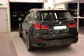 Black Sapphire BMW X5 M50d F15 2014 with 22