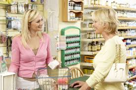 female s assistant in health food store stock photo picture female s assistant in health food store stock photo 5633514