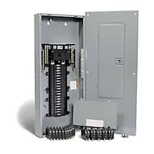 shop breaker panels at homedepot ca the home depot canada Eaton Fuse Box 200 Amp 200 amp, 40 spaces 80 circuits maximum qwikpak panel package with breakers 200 Amp Fuse Block