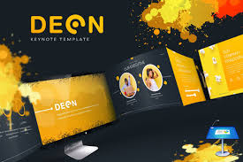 Deon Design Deon Keynote Template By Inspirasign On Envato Elements