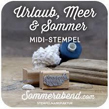 Midi Stempel Sommer Urlaub Meer 600