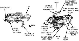 1984 corvette factory alarm line fuse under dash but i disable starter interrrupt