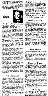 Nellie Bennett obit 1979 - Newspapers.com