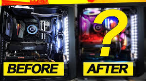 My SYSTEM BEFORE and AFTER! -- <b>Cooler Master MF120R ARGB</b> ...