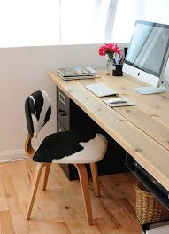 home office desk worktops. interesting desk two filing cabinets and a table top will work 20 diy desks that really  work for your home office i really like the simplicity of this desk mix  on desk worktops