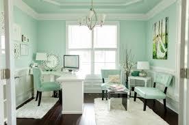 shabby chic office decor. Teal Office Shabby Chic Feminine Space Home Decor Design