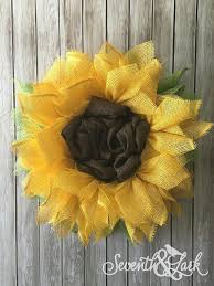 mesh sunflower wreath tutorial and diy kit the perfect summer wreath