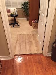 Is it wrong to have different wooden flooring upstairs from downstairs?