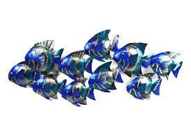 fish wall art metal