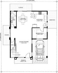 one story modern house plans unique simple e story house plans fresh modern house design e