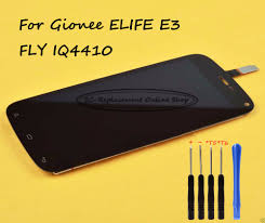 Black LCD+TP For Gionee ELIFE E3 & FLY ...