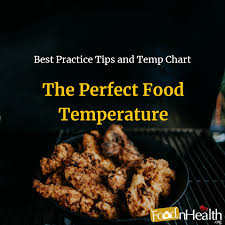 The Perfect Food Temperature Best Practice Tips And Temp