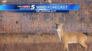 Deer Movement Chart Oklahoma Oklahoma Whitetail Deer Rut Wind Forecast