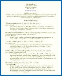 Objective For Resume Nursing School Nursing Student Resume Nursing ...