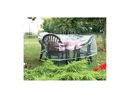 Housse Meuble Jardin Protection Pour Table Ron Chaises Salon Housse ...