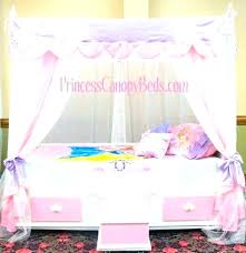 Girls Twin Bed Sets Canopy Bedroom Set Furniture For Little Princess ...