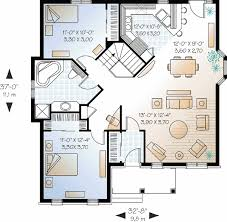 two bedroom house plans. Two Bedroom House Plans For Small Land: Bedrooms Front. « N