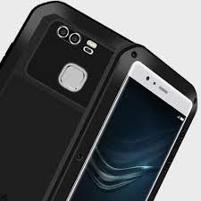 huawei phone p9. love mei powerful huawei p9 protective case - black phone