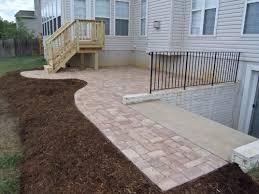 brick paver patio and deck in fredericksburg va Stafford Nursery