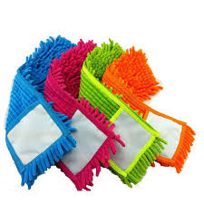 4 pcs Replacement pad for flat mop mops floor cleaning pad