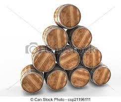 oak barrels stacked top. Stacked Wine Barrels - Csp21196111 Oak Top A