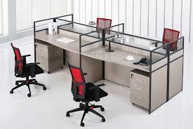 office workstation design. Modern Office 4 Person Computer Table Workstation Design SZWSB366 A