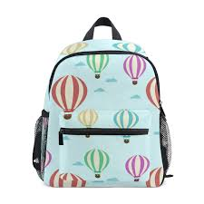 Amazon Com Light Blue Toy Hot Air Balloon 10 Inch Backpack