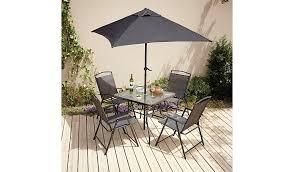 balcony furniture miami. miami 6 piece patio set garden furniture george at asda balcony