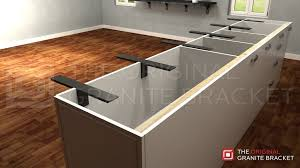 t countertop bracket luxury granite kitchen countertops