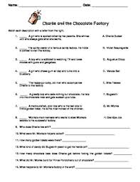 charlie and the chocolate factory test and gobstopper essay fun