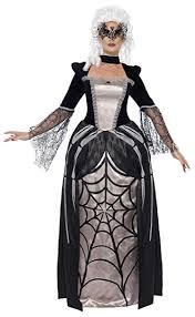 Smiffys Womens Black Widow Baroness Costume