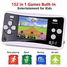 … Black1 Handheld <b>Game</b> Console for Children,The <b>80s Arcade</b> ...