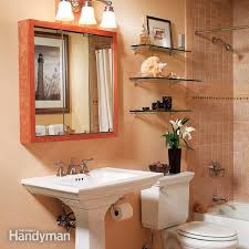 how to improve your bathroom storage in