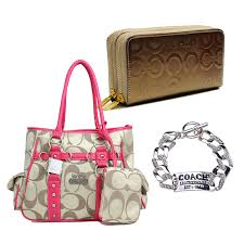 Coach0A2541   Coach0A559   Coach0A2752  Coachzuhe015  - Buy This Set Enjoy  Free Shipping And Save Extra  13Coach Stud In Signature Medium Pink Totes  ...