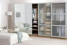 glass closet installing glass sliding closet doors