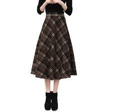 Edelnice Trachtenmoden Size Chart Cityelf Womens Autumn Winter Retro Lattice Stretch Wool
