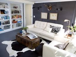 cowhide rug modern living room